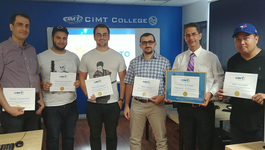 Toronto Hydro IT Training by CIMT College - Malton Campus