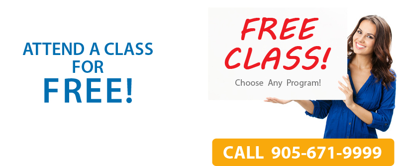 Attend a FREE CLASS for any diploma program