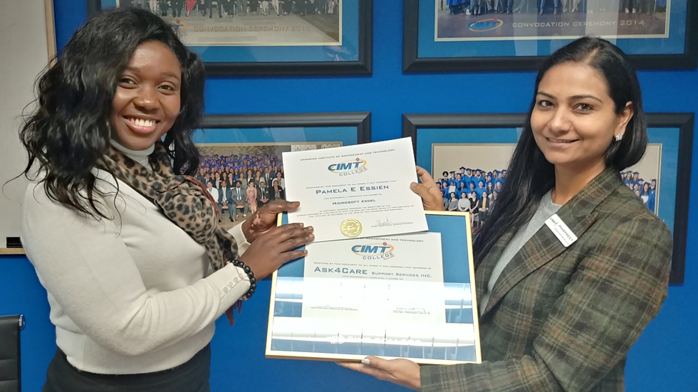 CIMT College Delivers One-on-One training for its Corporate Client, ASK4CARE
