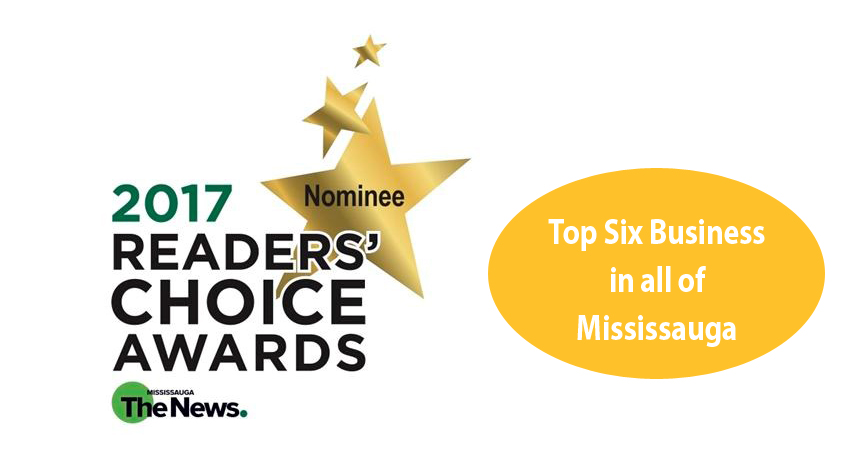 Mississauga News 2017 Readers' Choice Nomination!